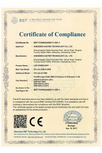 LED Downlight CE EMC