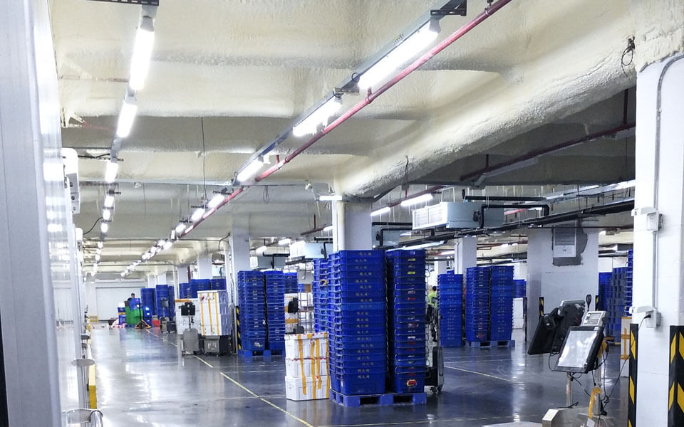 LED Tri-proof Lights for Cold Storage